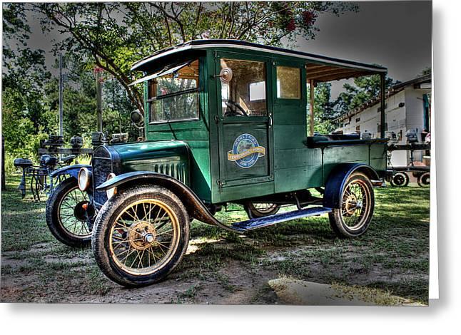 Model T Truck In Bon Secour Al Greeting Card by Lynn Jordan