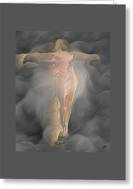Freethinker Greeting Cards - Modern American Christ By Quim Abella Greeting Card by Joaquin Abella