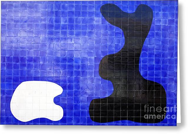 Miranda Greeting Cards - Modern ceramic tiles Greeting Card by Jose Elias - Sofia Pereira