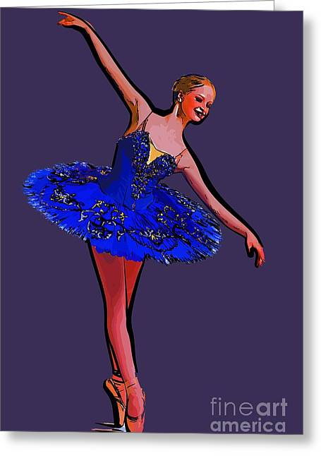 College Town Greeting Cards - Modern dancer 34 Greeting Card by College Town