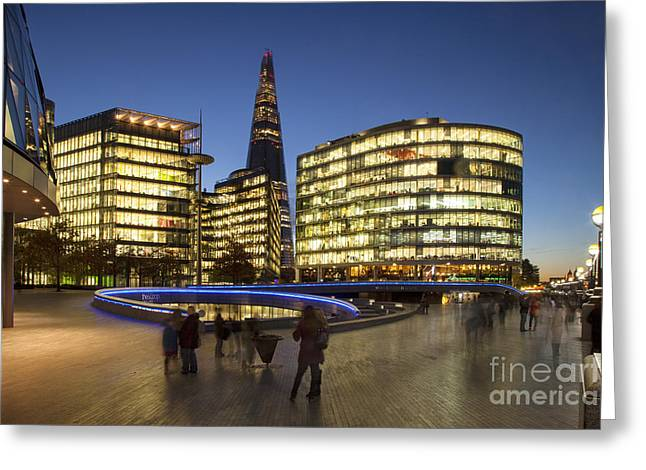 Development Greeting Cards - Modern London - South Bank Greeting Card by Brian Jannsen