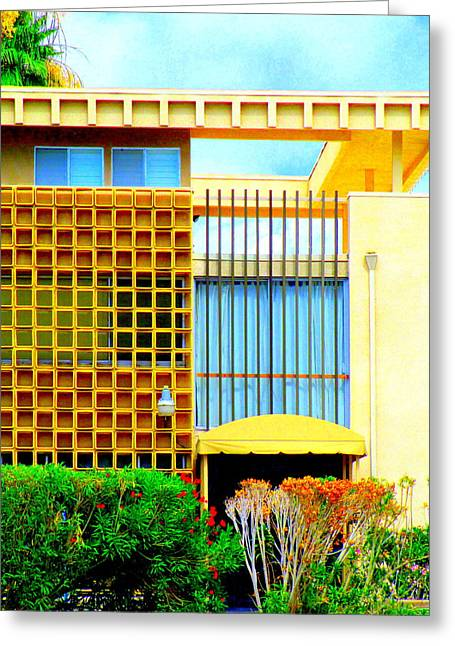 Modernism Photographs Greeting Cards - Modernism Composition Greeting Card by Randall Weidner