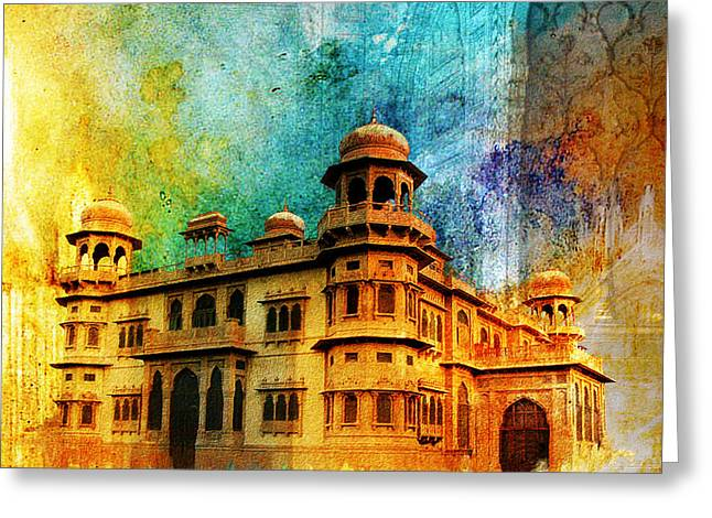Baltit Greeting Cards - Mohatta Palace Greeting Card by Catf