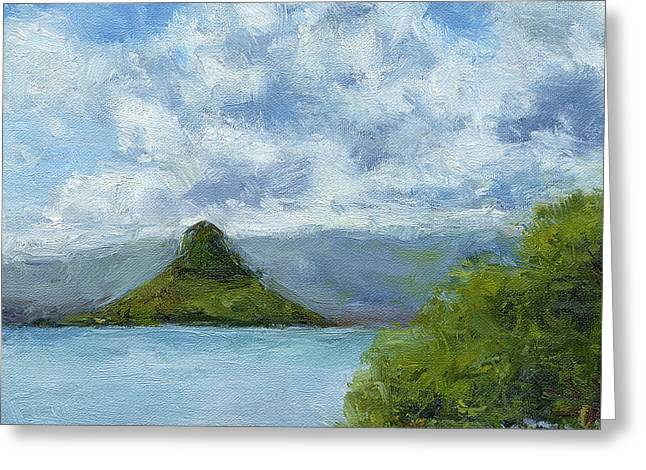 Lahaina Greeting Cards - Mokolii Island Greeting Card by Stacy Vosberg