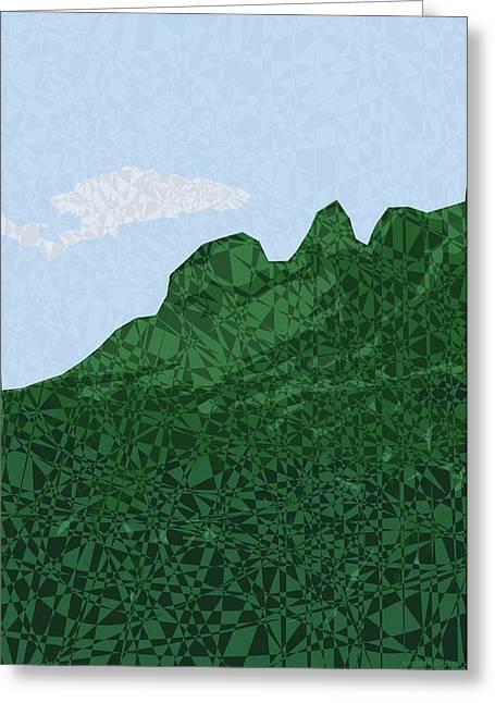 Kauai Greeting Cards - Moku Kapa 16 Greeting Card by Kenneth Grzesik