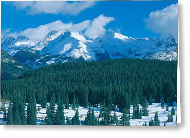 550 Greeting Cards - Molas Pass Summit, Million Dollar Greeting Card by Panoramic Images