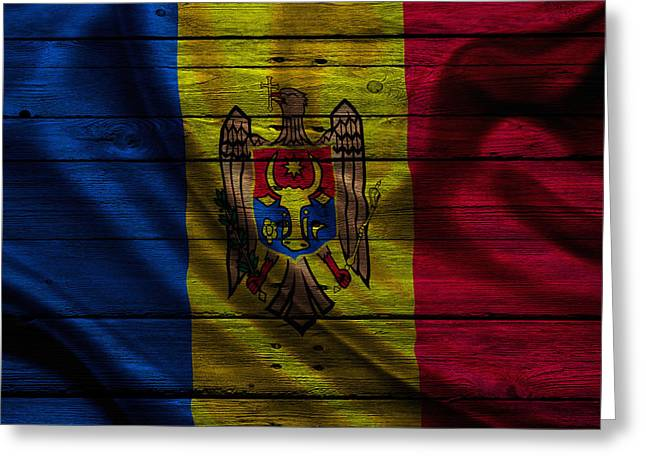 Continent Greeting Cards - Moldova Greeting Card by Joe Hamilton