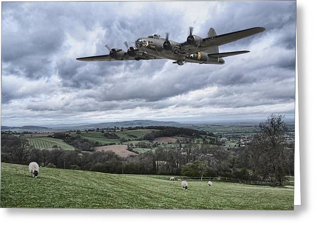 United States Army Air Corps Greeting Cards - Moment Of Serenity Greeting Card by Peter Chilelli
