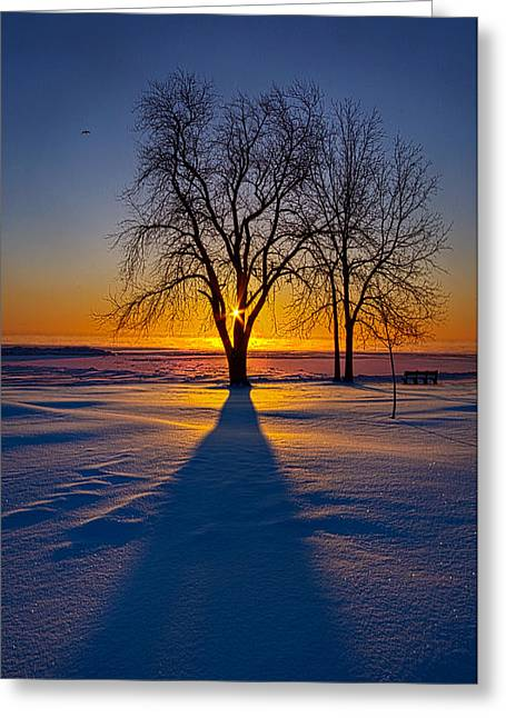 Bluesky Greeting Cards - Moments of Clarity Greeting Card by Phil Koch