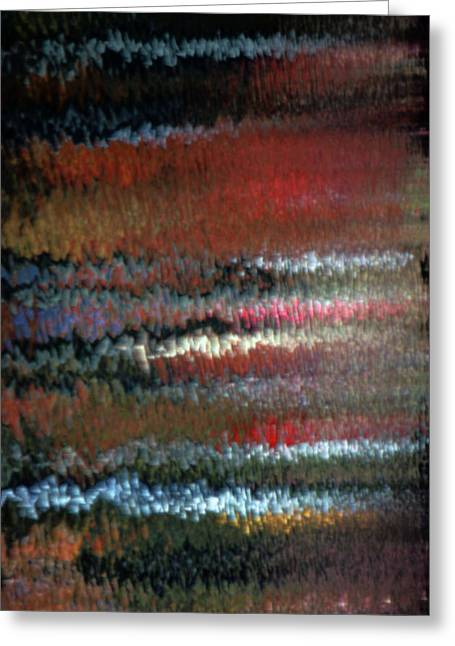 Steven Huszar Greeting Cards - Mon Hommage a Rothko Greeting Card by Steven Huszar