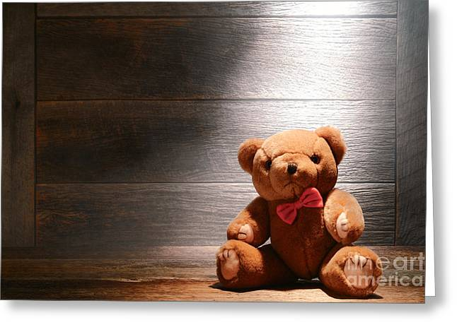 Attic Greeting Cards - Mon Petit Ours Greeting Card by Olivier Le Queinec