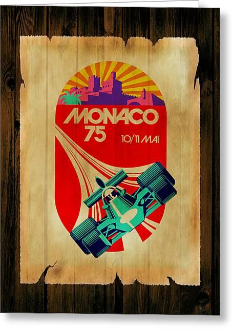 Monaco Greeting Cards - Monaco 1975 Greeting Card by Mark Rogan