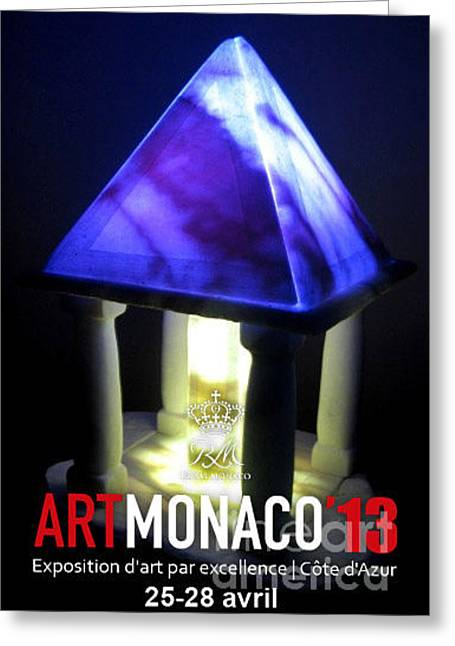 Thomas Sculptures Greeting Cards - Monaco the two civilizations Greeting Card by Thomas Maes