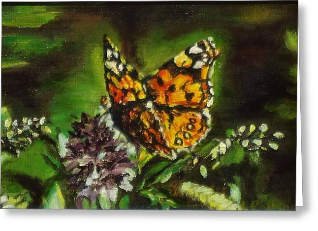 Oi Greeting Cards - Monarch Butterfly Greeting Card by Jennifer Calhoun