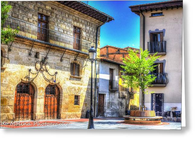 Architectural Photography Greeting Cards - Monastary Greeting Card by Dado Molina