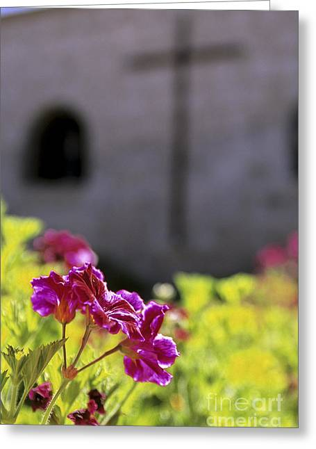 Colonial Architecture Greeting Cards - Monastery Arequipa Peru Greeting Card by Ryan Fox