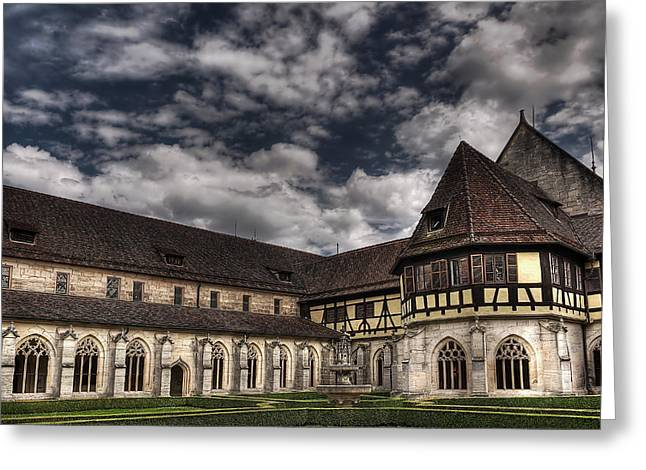 Nature Study Greeting Cards - Monastery in Tubingen Greeting Card by Mountain Dreams