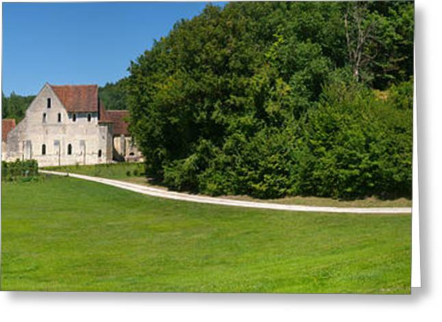 The Hills Greeting Cards - Monastery Of The Corroirie Liget Greeting Card by Panoramic Images