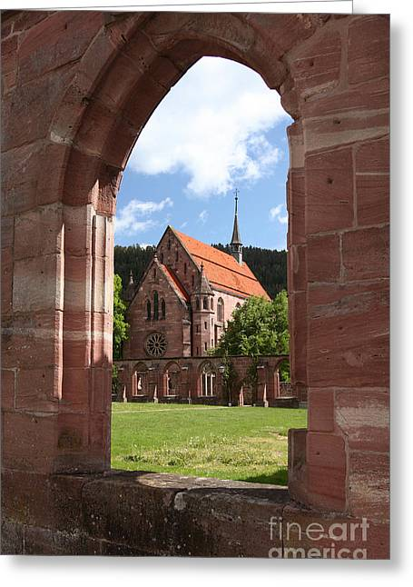 Kloster Greeting Cards - Monastery With Cloister, Germany Greeting Card by Matthias Lenke