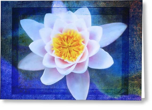 Water Garden Mixed Media Greeting Cards - Monets Garden Greeting Card by Georgiana Romanovna