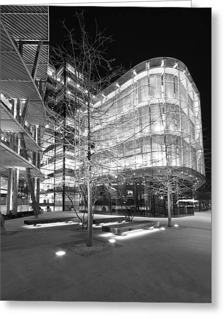 Monochrome Facades  Greeting Card by Ollie Taylor