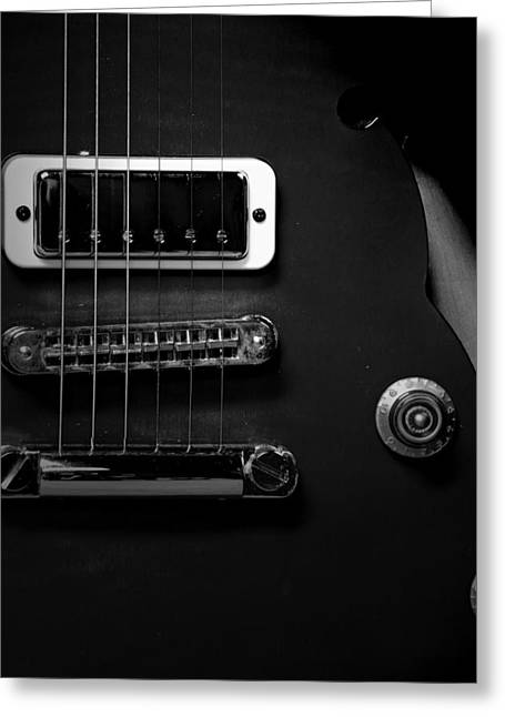 Monochrome Yamaha 3 Greeting Card by David Weeks