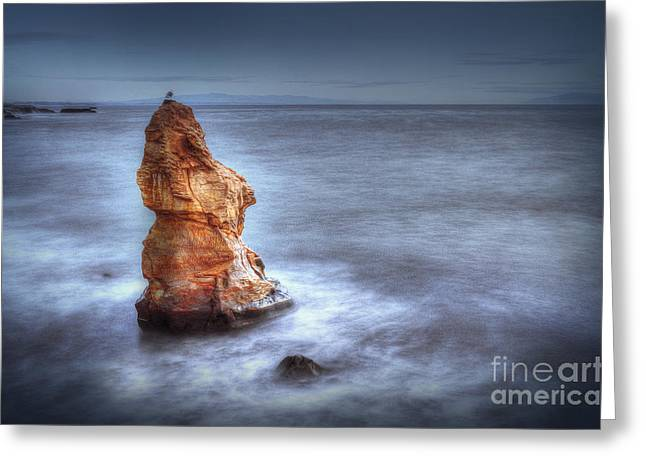 Santa Cruz Art Greeting Cards - Monolith  Greeting Card by Brian Hickman