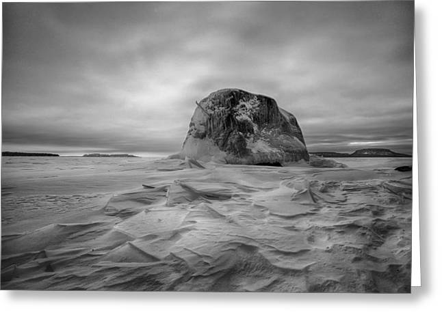 Canon Eos 6d Greeting Cards - Monolith  Greeting Card by Jakub Sisak