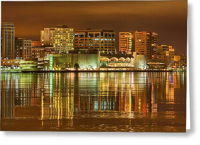 Steven Ralser Greeting Cards - Monona Terrace Madison Wisconsin Greeting Card by Steven Ralser