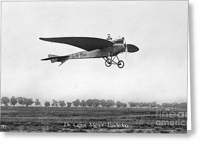 Monoplanes Greeting Cards - Monoplane, 1910 Greeting Card by Granger