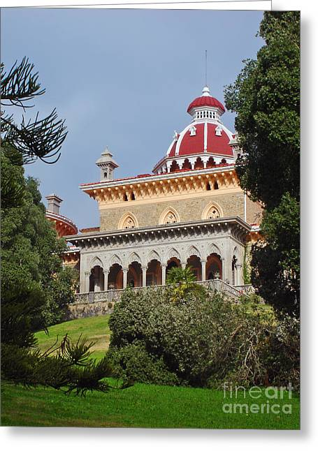Romanticism Greeting Cards - Monserrate Palace Greeting Card by Jose Elias - Sofia Pereira