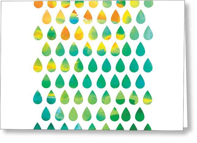 Monsoon Rain Greeting Card by Budi Satria Kwan