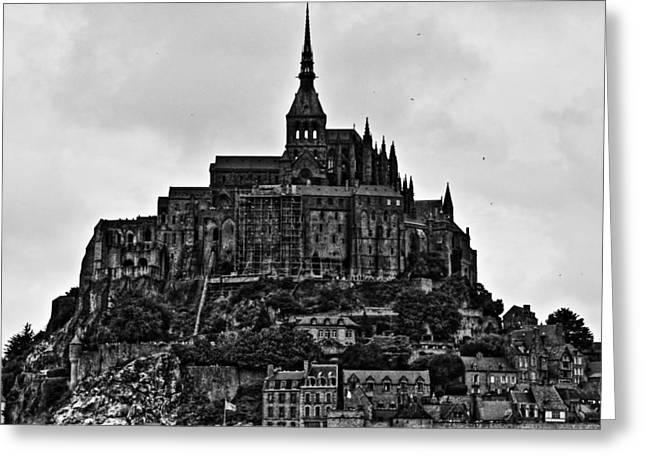 Commune Greeting Cards - Mont Saint Michel Greeting Card by Aidan Moran