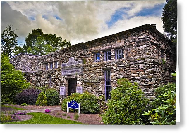 Montague Building At Mars Hill College Greeting Card by Ryan Phillips