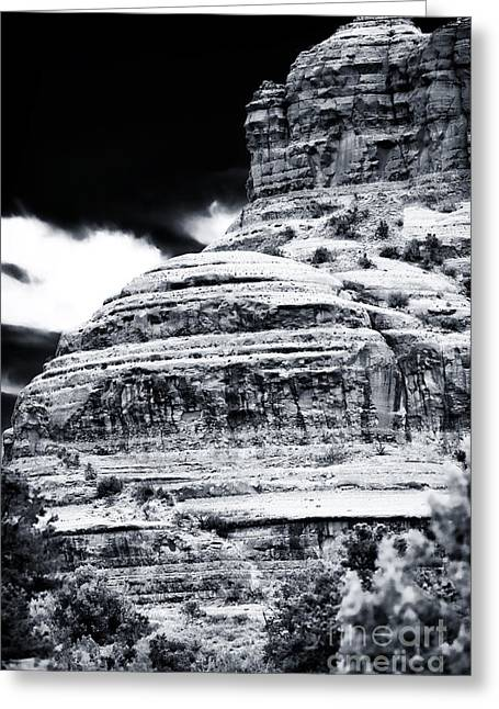 Montana Redonda Greeting Card by John Rizzuto