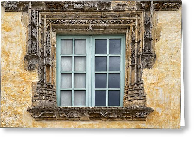 French Open Greeting Cards - Montcabrier Window Greeting Card by Georgia Fowler
