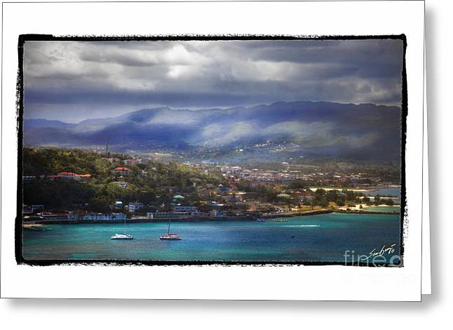 As Far As The Eye Can See Greeting Cards - Montego Bay Jamaica Greeting Card by Sam Gray