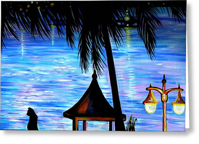 Anna Duyunova Greeting Cards - Montego Bay. Part Two  Greeting Card by Anna  Duyunova