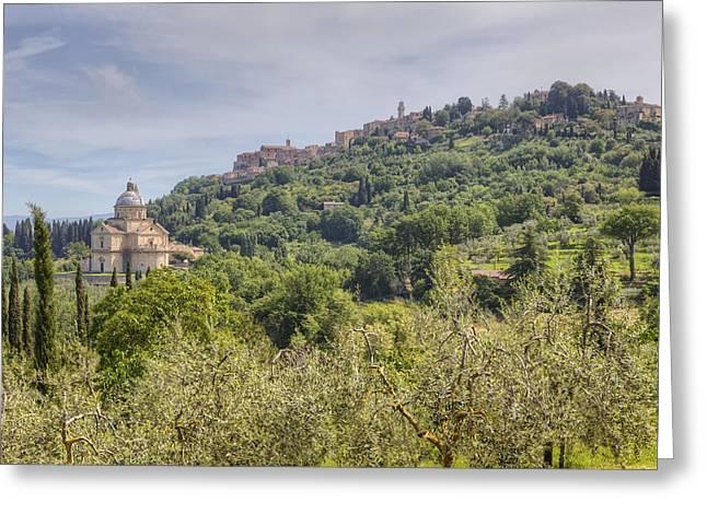 Montepulciano Greeting Cards - Montepulciano Greeting Card by Joana Kruse