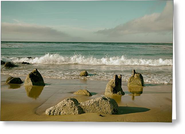 Ocean Vista Greeting Cards - Monterey Bay Greeting Card by Mountain Dreams