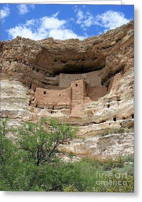 Native American Dwellings Greeting Cards - Montezuma Castle Greeting Card by Carol Groenen