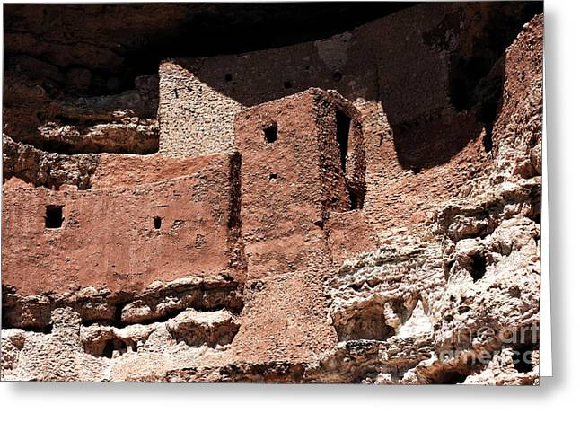 Montezuma Greeting Cards - Montezuma Castle Greeting Card by John Rizzuto