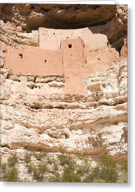 Montezuma Greeting Cards - Montezumas Castle 3 Greeting Card by Douglas Barnett