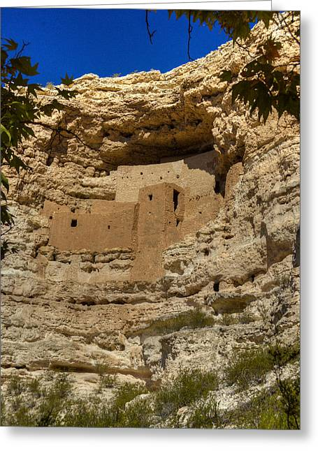 Montezuma Greeting Cards - Montezumas Castle 9 Greeting Card by Douglas Barnett