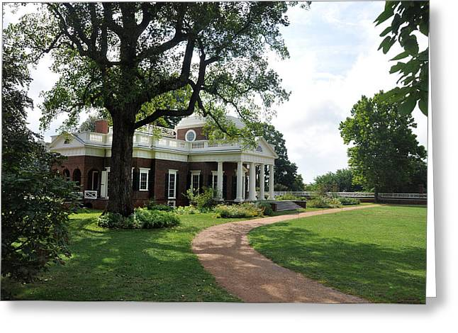 Monticello Greeting Cards - Monticello - Virginia Greeting Card by Bill Cannon