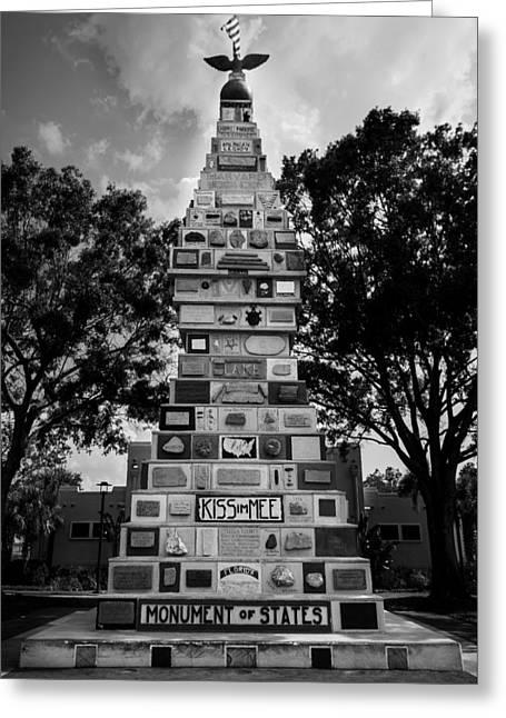 Matt Owen Greeting Cards - Monument of States Greeting Card by Matt Owen