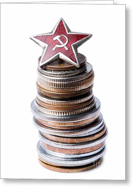 Dictatorships Greeting Cards - Monument to the 20th century Greeting Card by Sinisa Botas