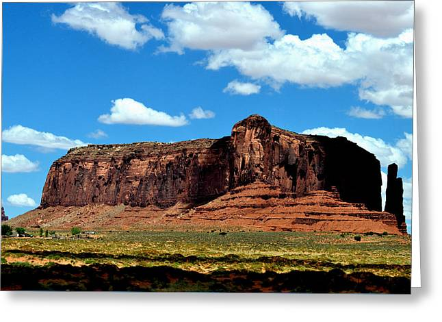 Mitchell Butte Greeting Cards - Monument Valley 2 Greeting Card by Ruben Barbosa
