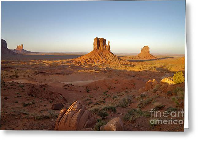 Us Destinations Greeting Cards - Monument Valley, Arizona Greeting Card by Mark Newman