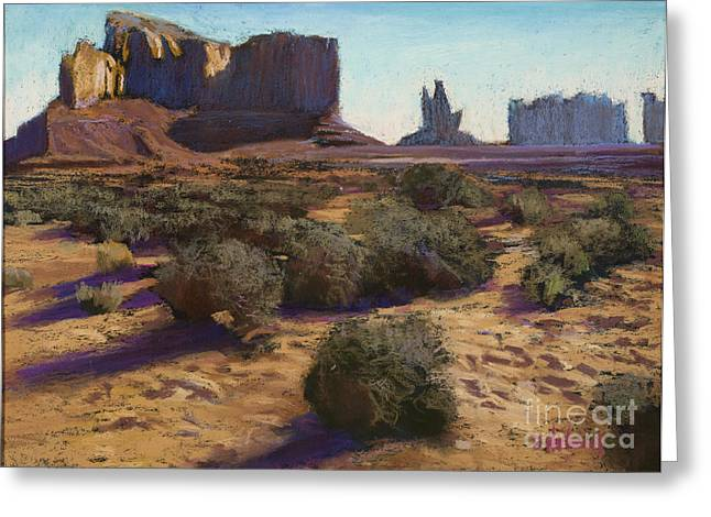 Monument Valley Greeting Card by Dave Holman